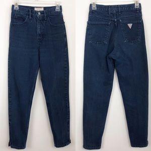 Vtg Guess High Waist Mom Jeans 26 (Fits Sz 24)